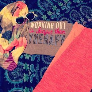 Spunky brunch / workout bundle set size s/m